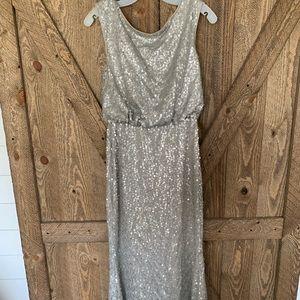 David's Bridal Bridesmaid Dress women's small